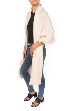 Shoptiques Product: Silk-Creppone/wool Scarf