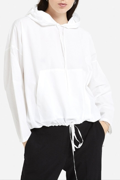 Ottod'ame White Anorak Blouse - Product List Image