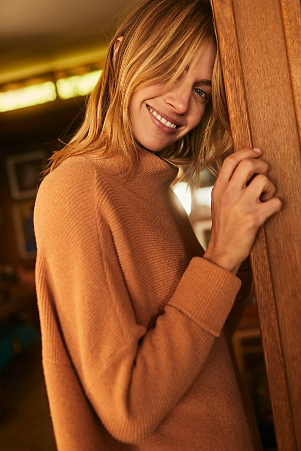 Free People Ottoman Slouchy Tunic - Back Cropped Image