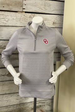 Gameday Couture OU OverAndOut Quilted Zip - Alternate List Image