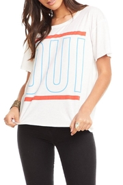 Chaser Oui Graphic Tee - Front cropped