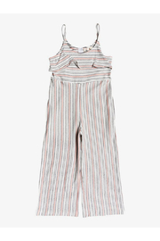 Roxy Our Eyes Strappy Jumpsuit - Front cropped