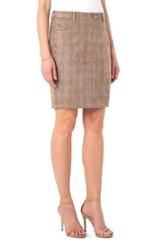 Liverpool  Our faux suede Gia Glider skirt - Product Mini Image