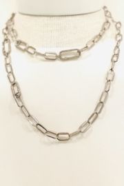 The Woods Fine Jewelry  Our Short Thick Silver Chain - Product Mini Image