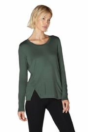 Beyond Yoga Out-Front Split Pullover - Product Mini Image