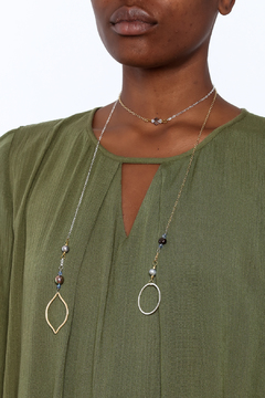 Shoptiques Product: Lariat with Pearls