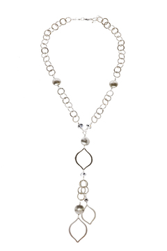 Shoptiques Product: Silver Taj Necklace