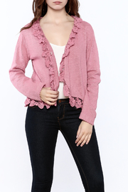 Out Of Xile Pinky Lacey Sweater - Product Mini Image