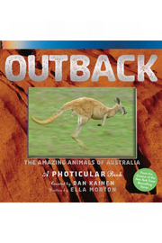 Workman Publishing Outback: The Amazing Animals Of Australia: A Photicular Book - Front cropped