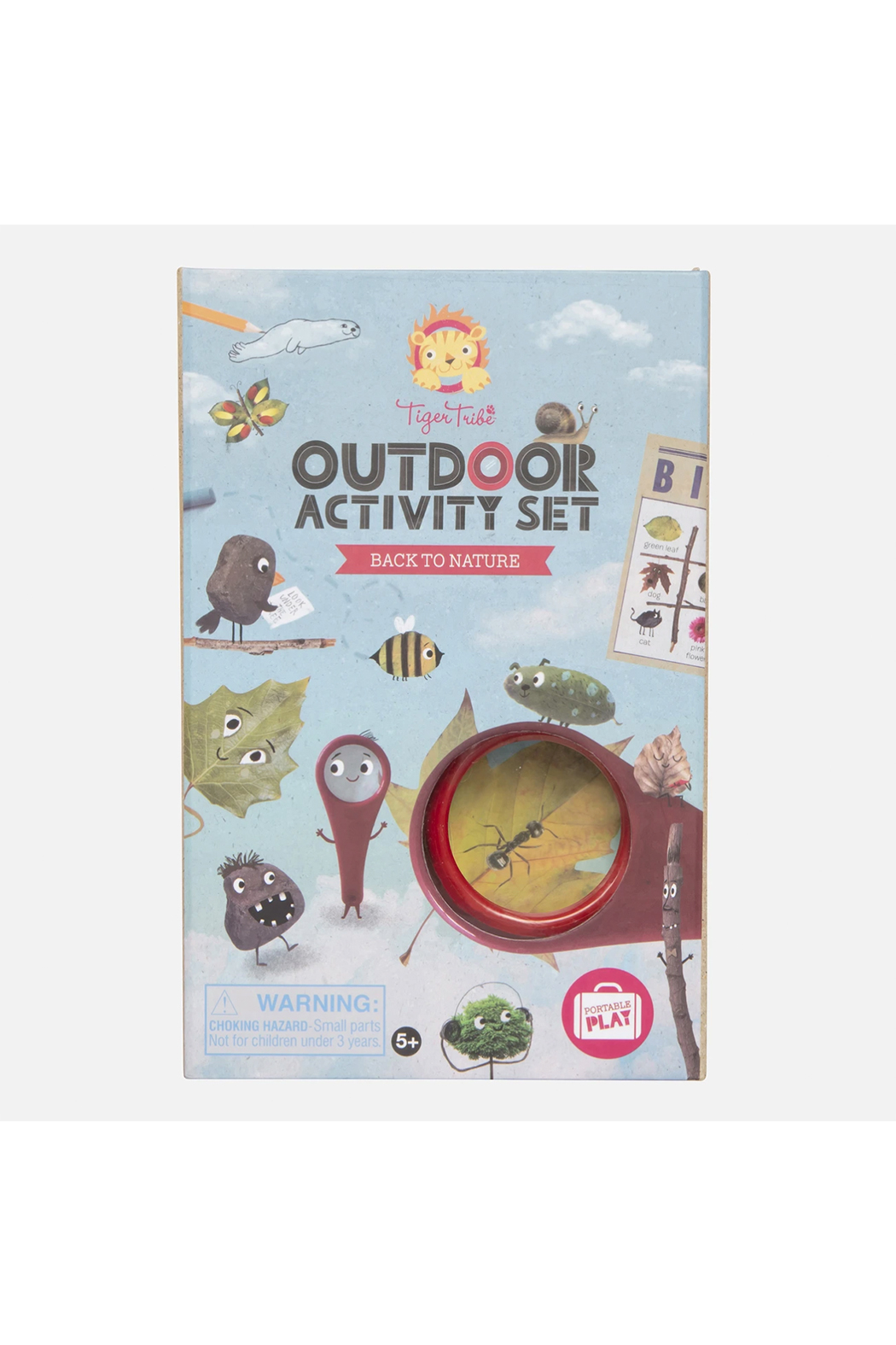 Tiger Tribe Outdoor Activity Set - Back To Nature - Main Image