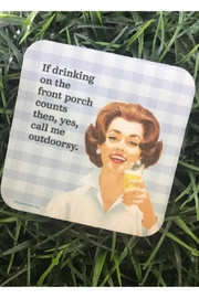 High Cotton Outdoorsey Coaster - Product Mini Image