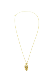 Outlette Skull Necklace - Front cropped