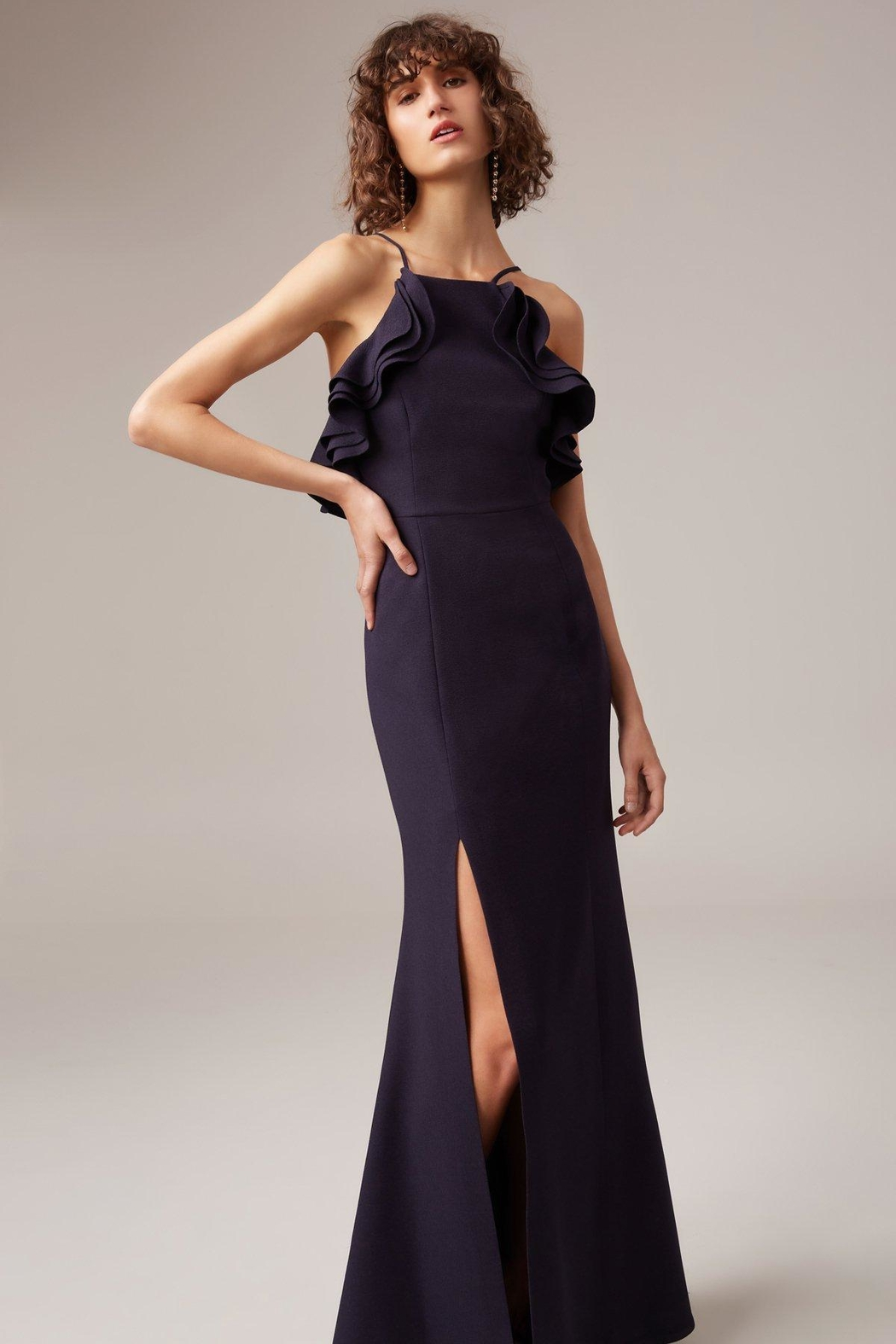 C/MEO COLLECTIVE Outline Gown - Front Cropped Image