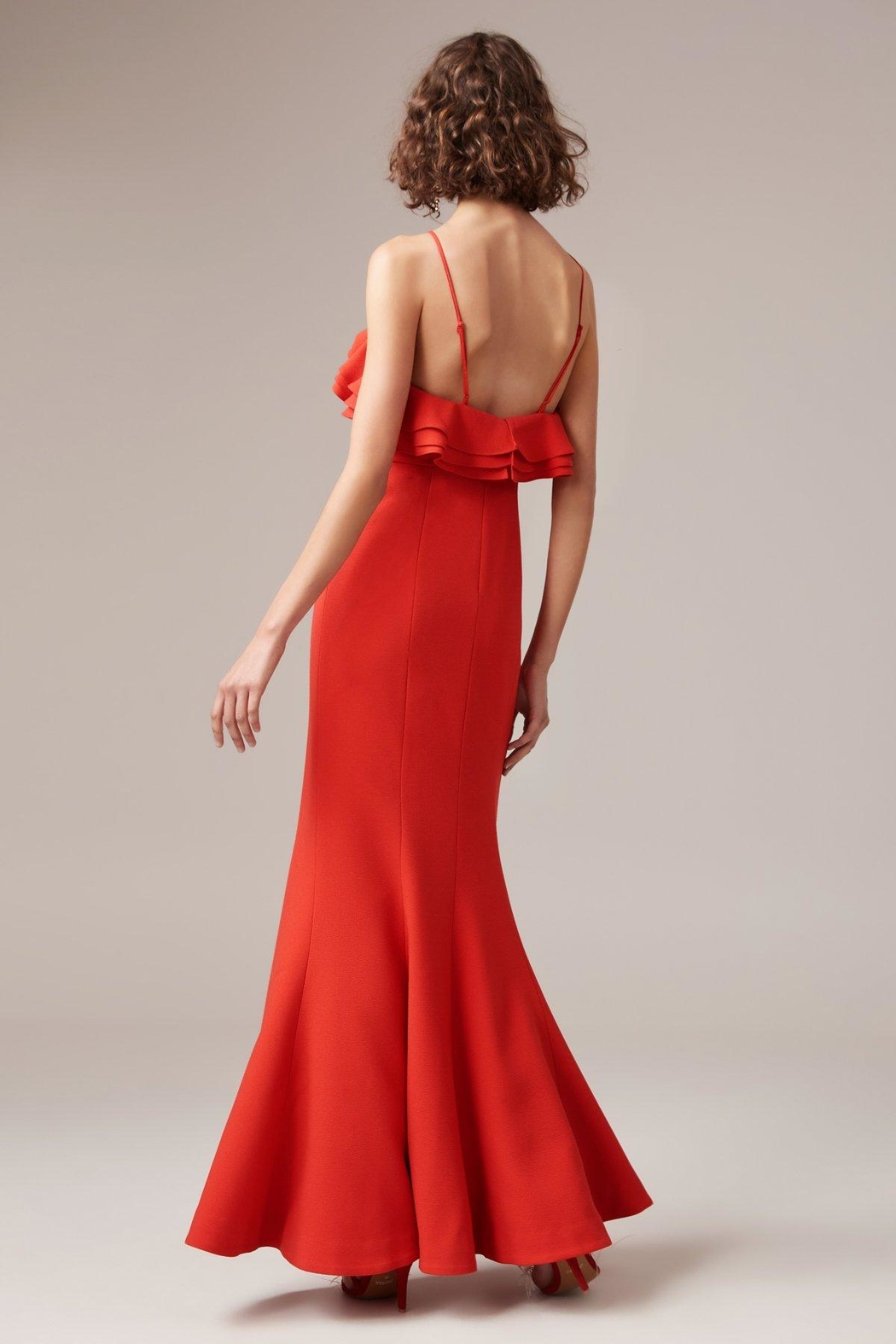 C/MEO COLLECTIVE Outline Gown - Front Full Image