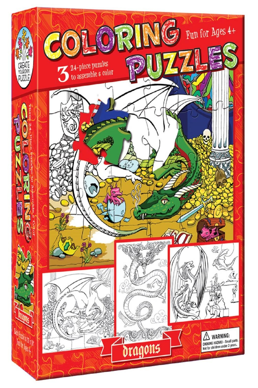 Outset Kids Coloring Puzzle - Main Image