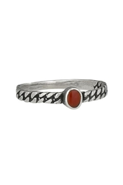Tiger Mountain Oval Braid Ring - Product Mini Image