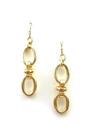 Chic Oval Chain Link Earring - Product Mini Image