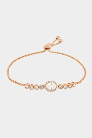 Wild Lilies Jewelry  Oval Crystal Bracelet - Product Mini Image