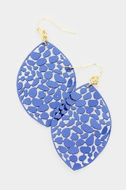 TIGERLILY Oval Filigree Earring - Product Mini Image