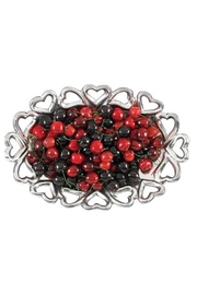 Inspired Generations Oval Heart-To-Heart Dish - Front cropped