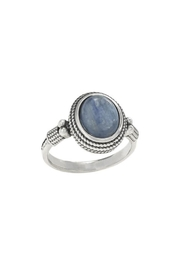 Tiger Mountain Oval Kyanite Ring - Product Mini Image