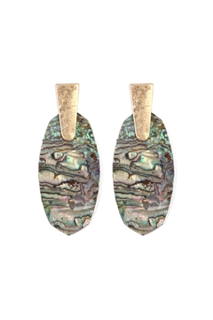 Shoptiques Product: Oval Stone Earring