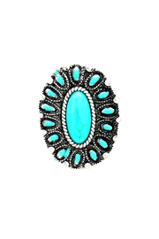 Wild Lilies Jewelry  Oval Turquoise Ring - Product Mini Image