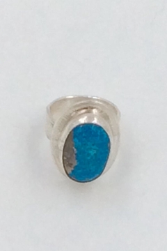 LJ Jewelry Designs Oval Turquoise Ring - Product List Image
