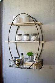 Kalalou OVAL WALL UNIT - Product Mini Image