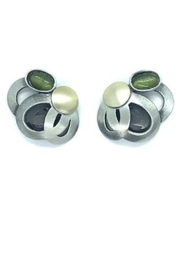 Crono Design Ovals, Ovals, Ovals Post Earring - Product Mini Image