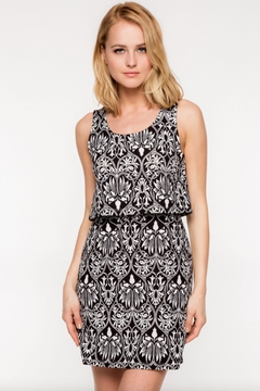 Shoptiques Product: Over-Lay Patterned Dress