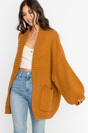Apricot Lane St. Cloud Over Open Cardi - Product Mini Image