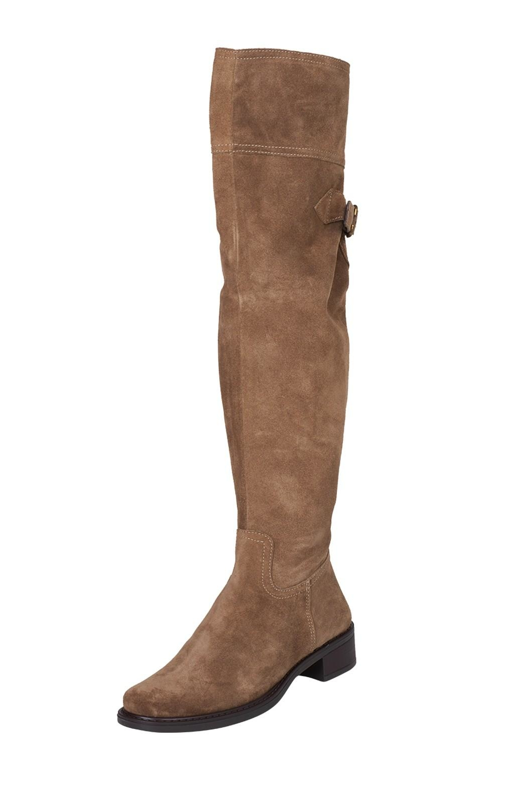 Lady Doc Over-The-Knee, Beige, Neutral - Front Full Image