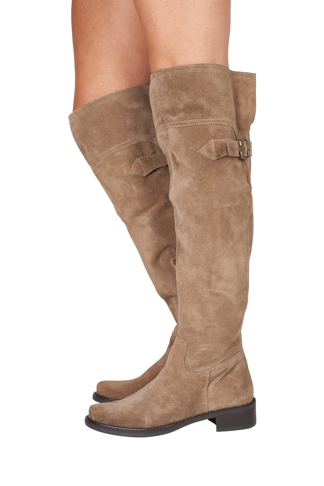 Lady Doc Over-The-Knee, Beige, Neutral - Back Cropped Image