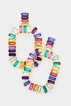Shoptiques Product: Over-The-Rainbow Earrings