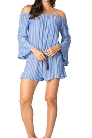 Paradise  OVER THE SHOULDER ROMPER - Product Mini Image