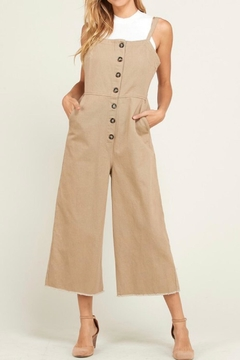 Wishlist Overall Button Jumpsuit - Product List Image