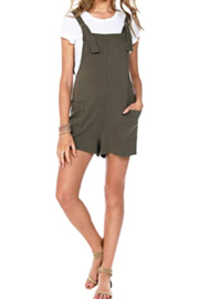 Bobi Los Angeles Overall Romper - Product Mini Image