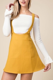 Honey Punch Overall Skater Dress - Product Mini Image