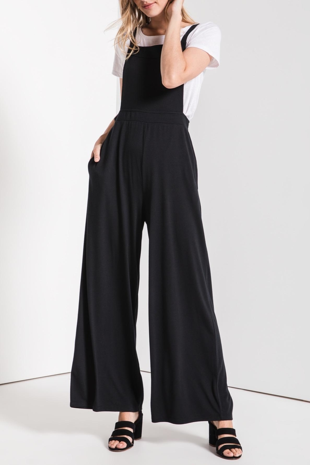 z supply Overall Styled Jumpsuit - Back Cropped Image