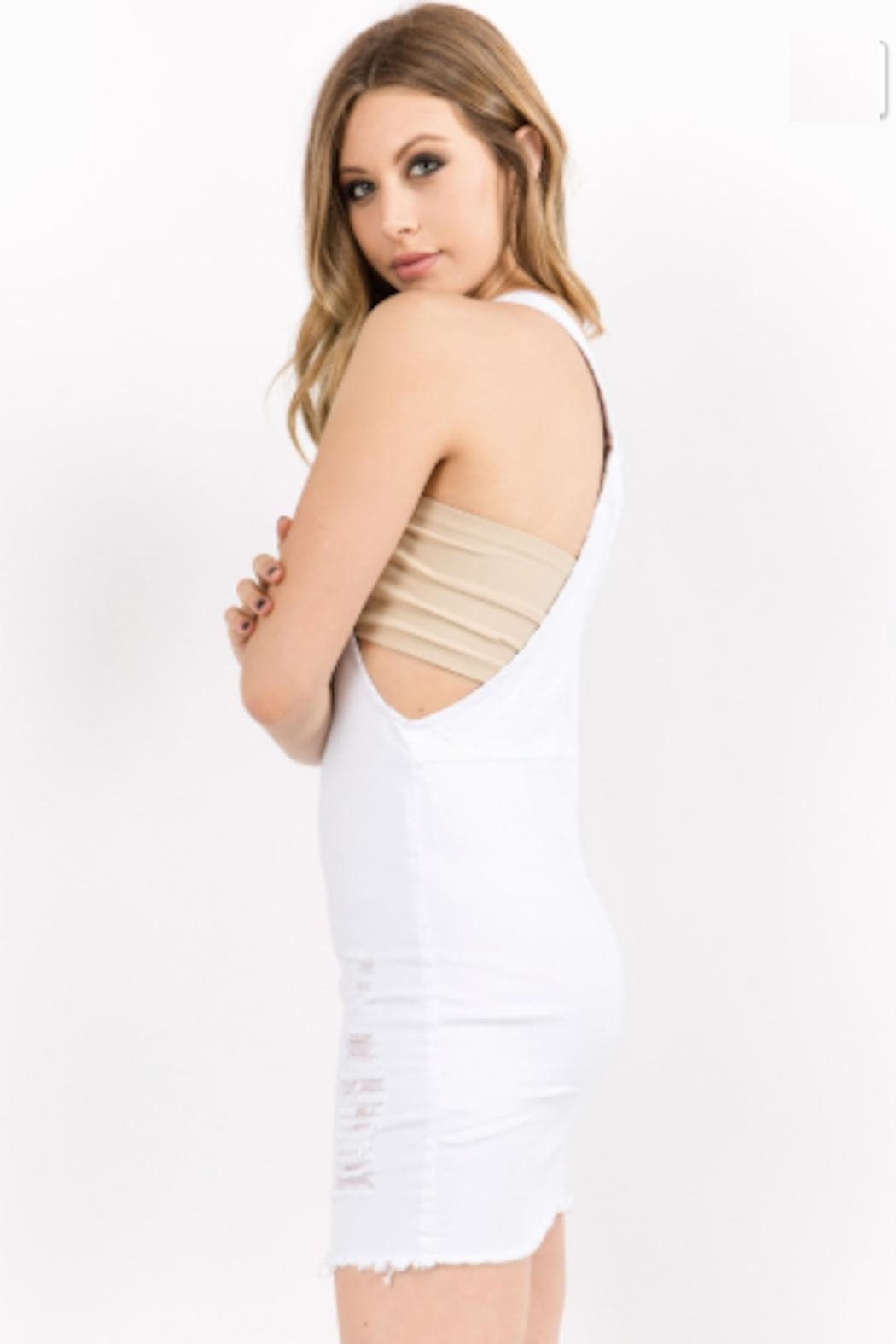 TIMELESS Overall Zip Dress - Side Cropped Image