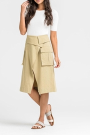 Lush Overlap Midi Skirt - Product Mini Image
