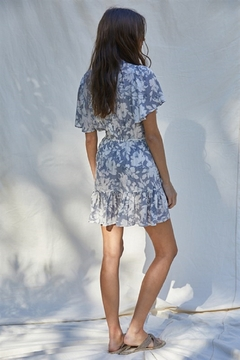 By Together Overlapped Mini Dress - Alternate List Image