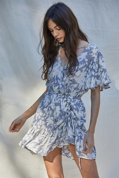 By Together Overlapped Mini Dress - Product List Image