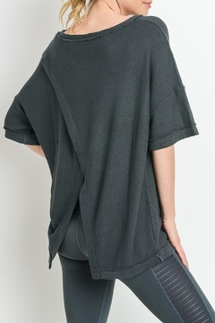 Mono B Overlay_back Tunic Top - Product List Image