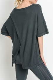 Mono B Overlay_back Tunic Top - Product Mini Image