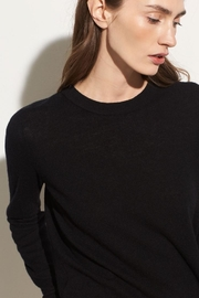 Vince Overlay Crew Sweater - Product Mini Image