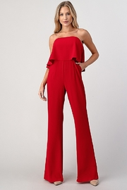 Minuet Overlay Top Jumpsuit - Front cropped