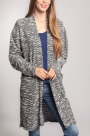 Chris & Carol Oversize Melange Cardi - Product Mini Image