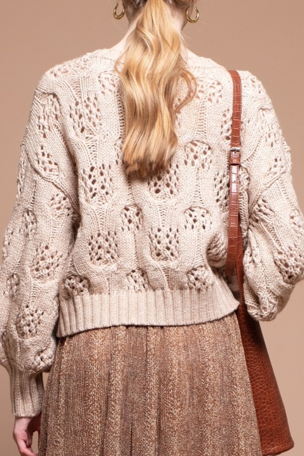 Moon River Oversize Sweater - Front Full Image